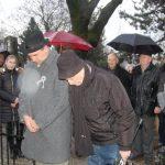 Tiszteletadás az 1848-49-es hősök előtt – 2018 – Nyitrai temető – Balról: Kucsera István és Mészáros István (foto: )