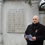 Tiszteletadás az 1848-49-es hősök előtt – 2018 – Nyitrai temető – Fehér Sándor docens (foto: )