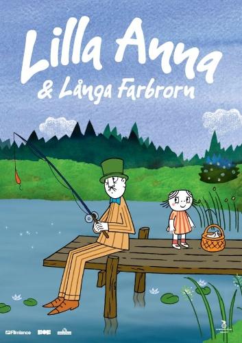 Lilla Anna och Långa Farbrorn poster