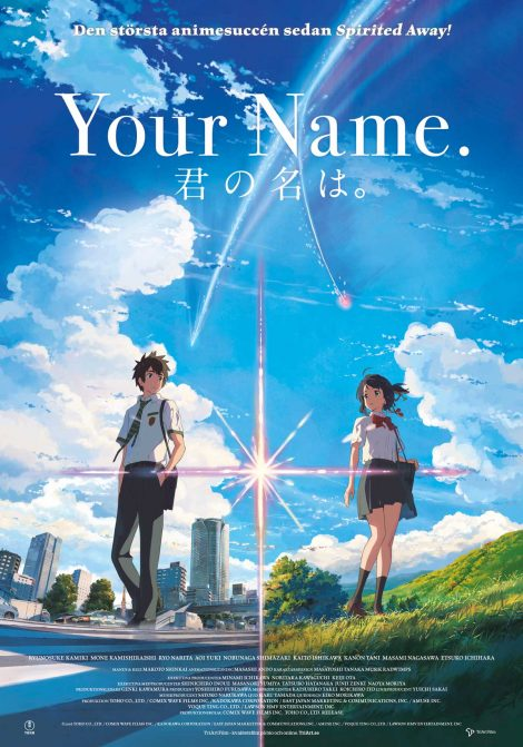 Your Name. (Jap. tal) poster