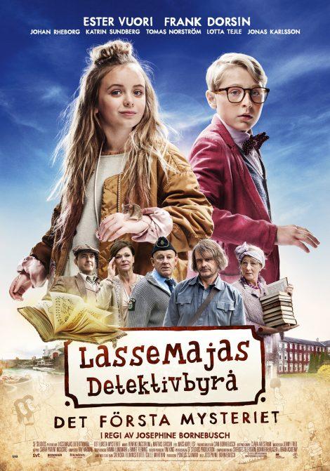 LasseMajas Detektivbyrå - Det första mysteriet (Sv text) poster