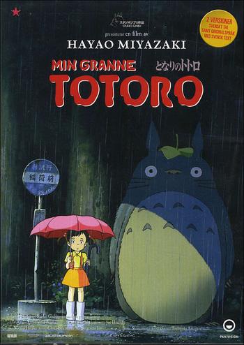 Min granne Totoro poster