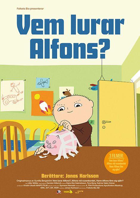 Vem lurar Alfons? (Sv. tal) poster
