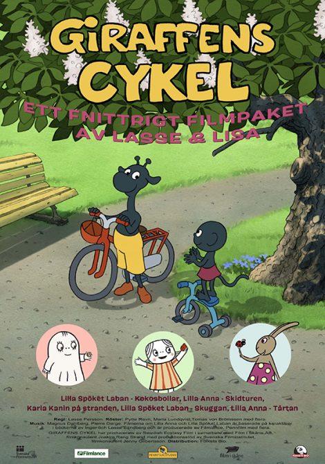 Giraffens cykel...och halva kungariket poster