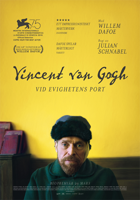 Vincent van Gogh - Vid evighetens port poster