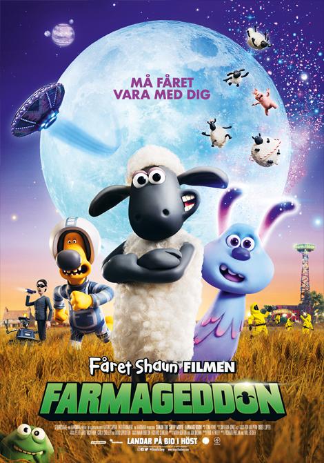 Fåret Shaun - Farmageddon poster