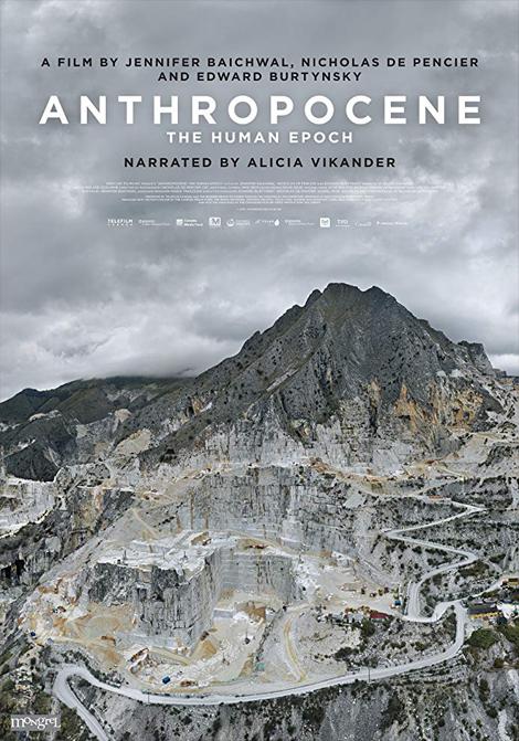 Antropocen - människans epok poster