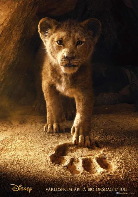 Lejonkungen (Live action) poster