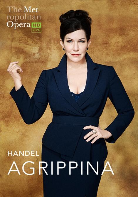 Met Opera 2019–2020: Agrippina poster