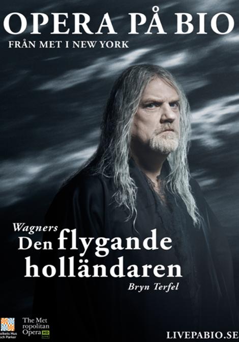 Met Opera 2019–2020: Den flygande holländaren poster
