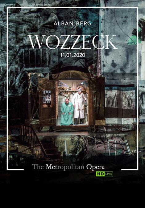 Met Opera 2019–2020: Wozzeck poster