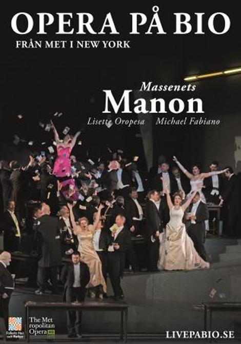 Met Opera 2019–2020: Manon poster