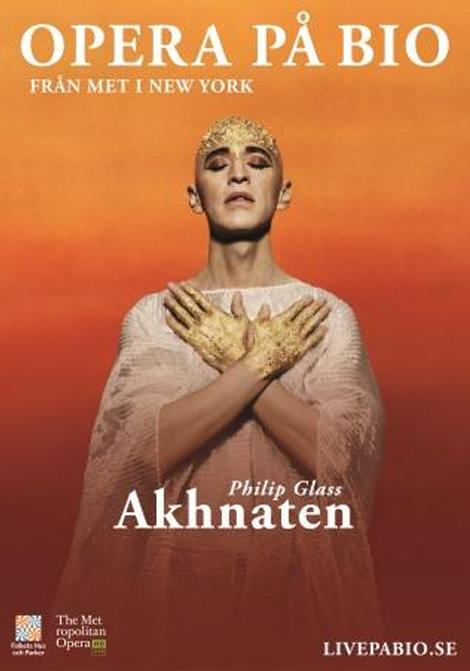 Met Opera 2019–2020: Akhnaten poster
