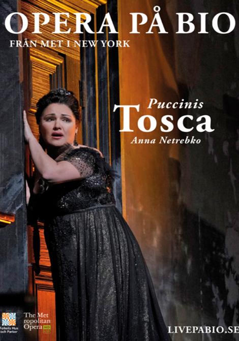 Met Opera 2019–2020: Tosca poster