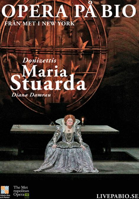 Met Opera 2019–2020: Maria Stuarda poster