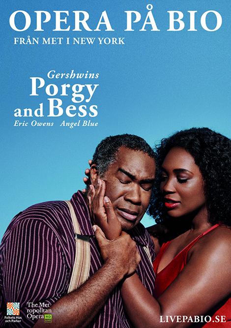 Met Opera 2019–2020: Porgy and Bess poster