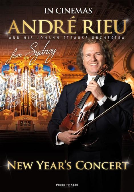 André Rieu - nyårskonsert från Australien poster