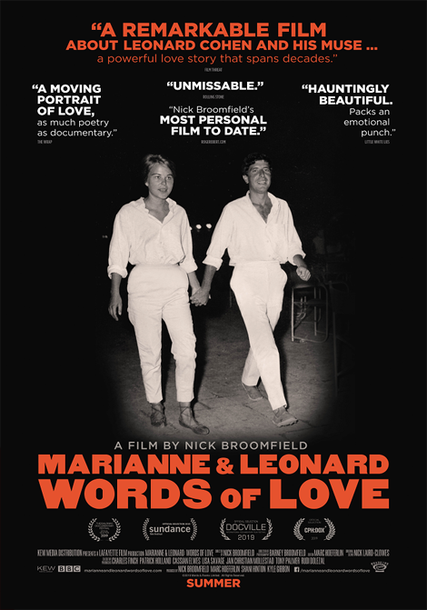 Marianne och Leonard: Words of Love poster