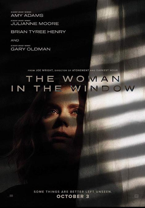 Kvinnan i fönstret poster