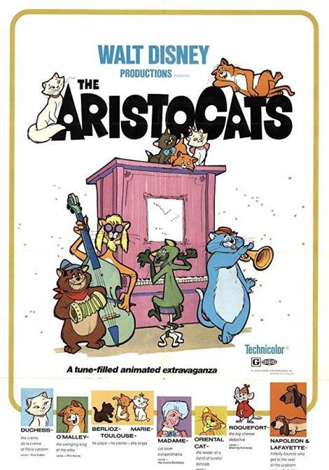 Disneyklassiker: The Aristocats poster