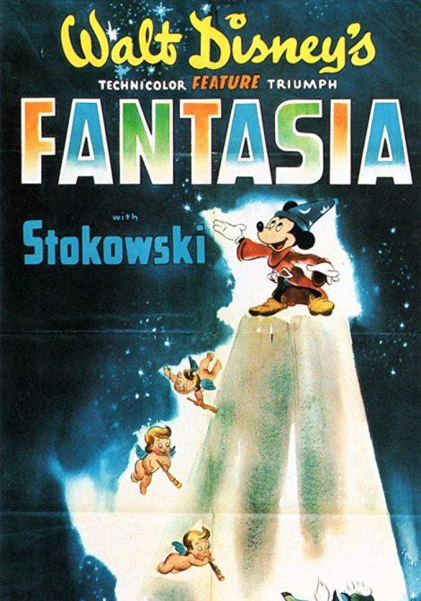 Disneyklassiker: Fantasia poster