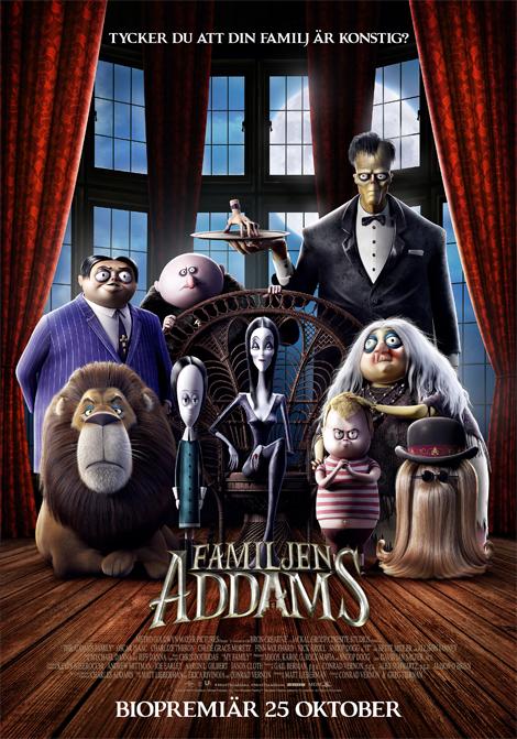 Familjen Addams (Sv. tal) poster