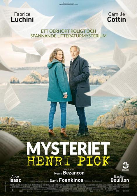 Mysteriet Henri Pick poster