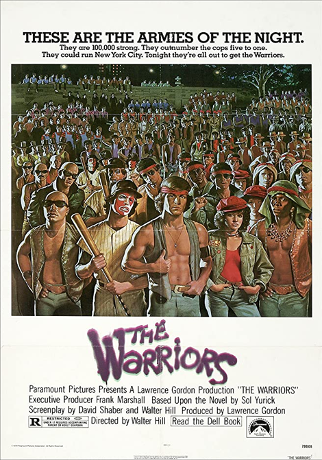 The Warriors - Krigarna poster