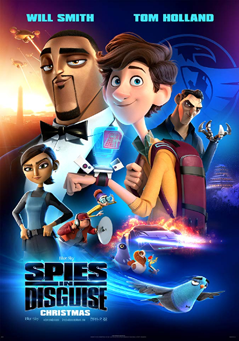 Spies in Disguise (Sv. tal) poster