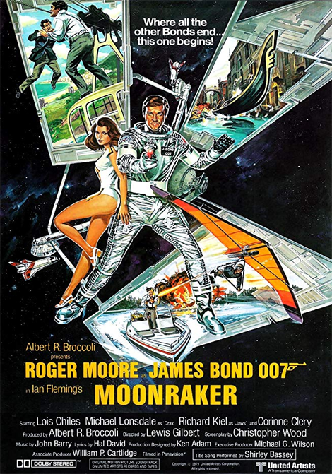 James Bond: Moonraker poster