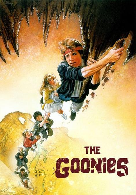 The Goonies - Dödskallegänget poster