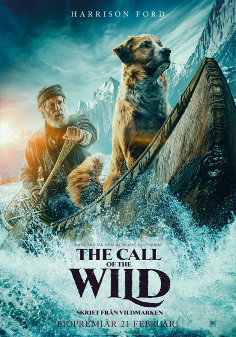 The Call of the Wild - Skriet från vildmarken poster