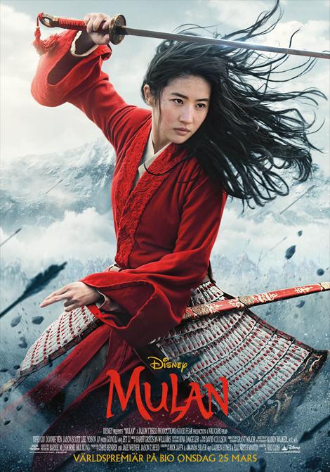 Mulan (Eng. tal) (Sv text) poster