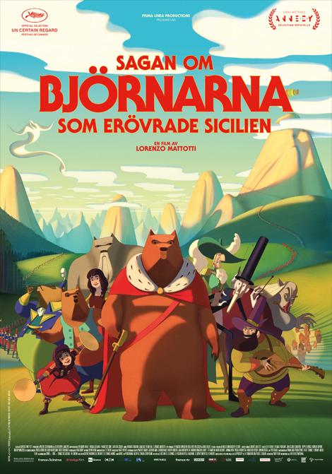 Sagan om björnarna som erövrade Sicilien (Fr. tal) poster