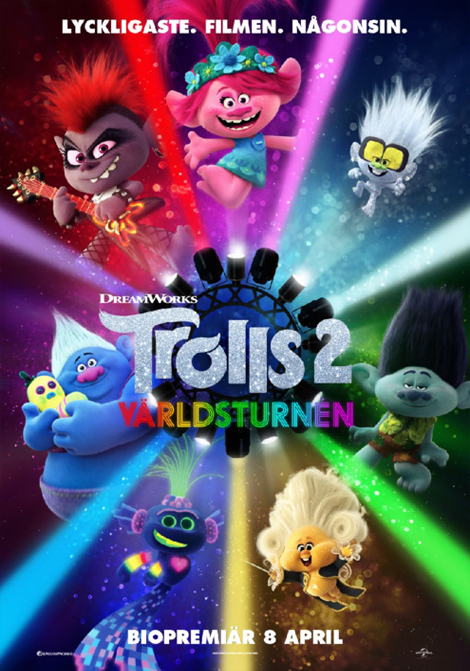 Trolls 2: Världsturnén poster