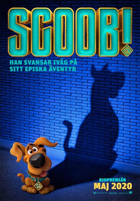 Scoob! (Sv. tal) poster