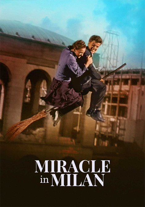 Miraklet i Milano poster
