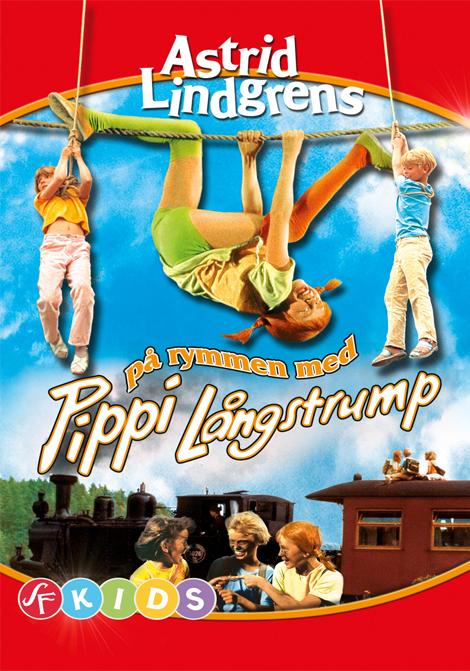 På rymmen med Pippi Långstrump 35 mm poster