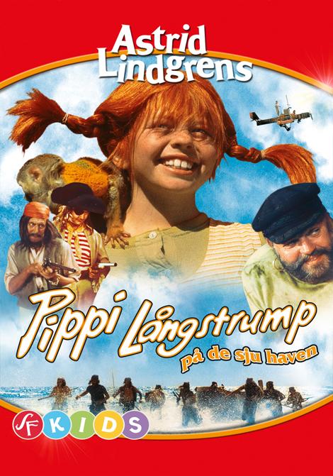 Pippi Långstrump på de sju haven poster