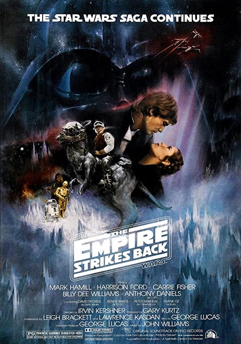 Star Wars Episod 5: Rymdimperiet slår tillbaka poster