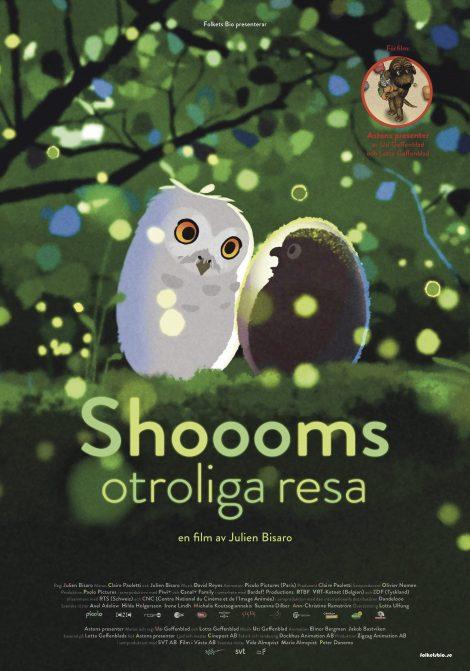 Shoooms otroliga resa förfilm Astons presenter poster