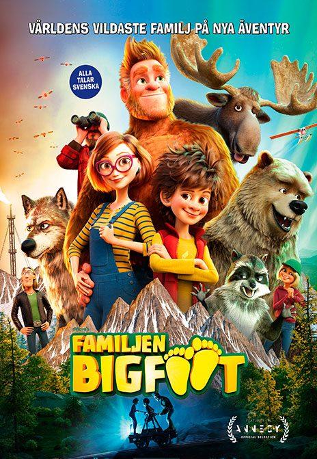 Familjen Bigfoot (Sv. tal) poster