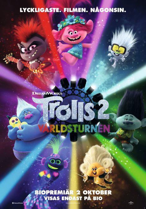 Trolls 2: Världsturnén (Sv. tal) poster