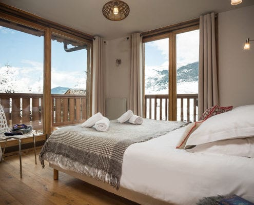 Chalet Pure Courchevel bedroom