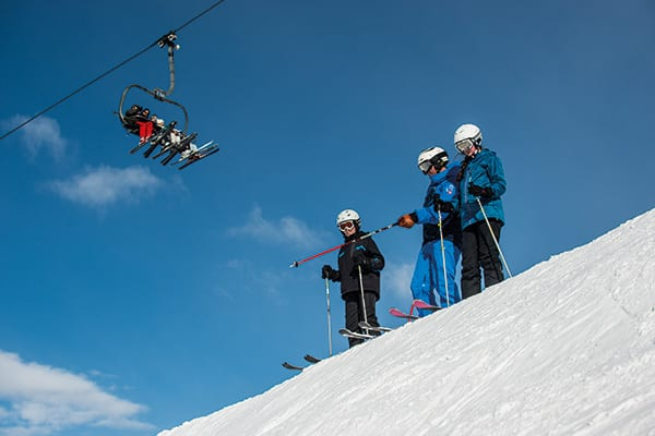 Best Ski lessons for beginners Three Valleys