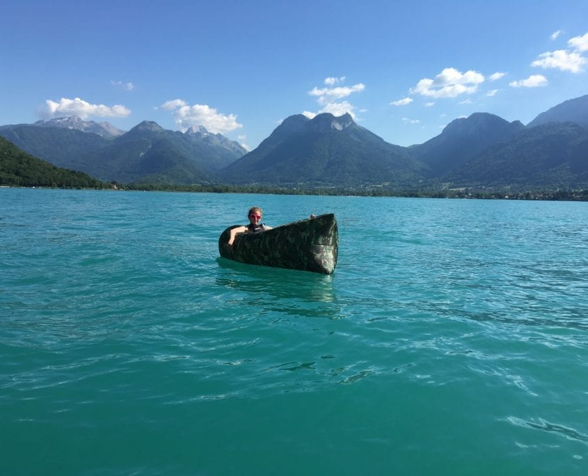 Family activities lake annecy france holidays