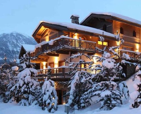 Chalets Courchevel Le Praz