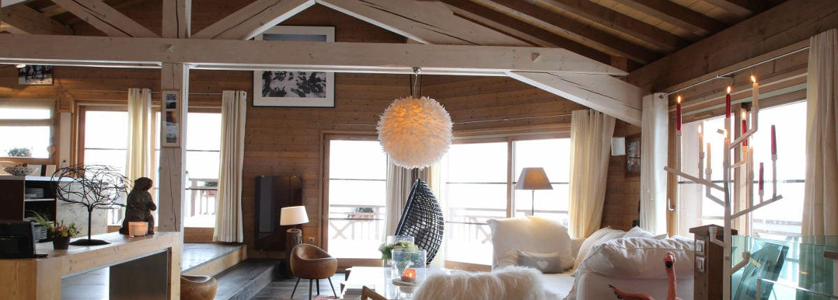 Chalet Igloo interior Courchevel Le Praz