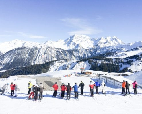Ski Magic transfers. Or fly direct to Courchevel Altiport!