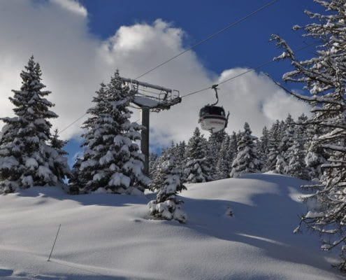 Courchevel and Three Valleys lift passes